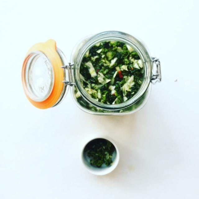 Green Kimchi