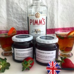 Pimms strawberry Jam